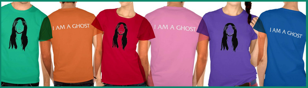 Buy I Am a Ghost shirts (assorted styles and colors) starting at $36.95