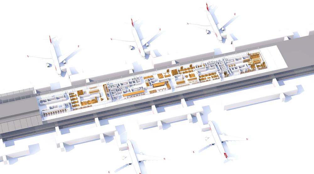 airport zürich_midfield terminal docke e_swiss senator / business / first class lounges