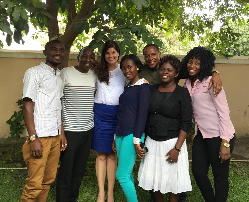 Members of our research team in Shinyanga, Tanzania.