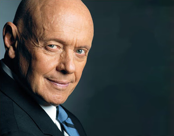"Dr. Stephen R. Covey; American Educator, bestselling author of ""The 7 Habits of Highly Effective People."""