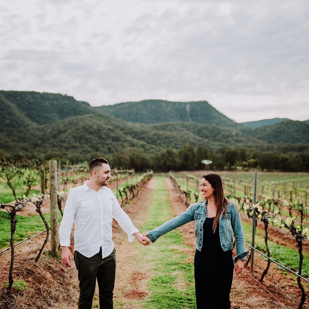 Audrey Wilkinson Winery | Engagement Photos