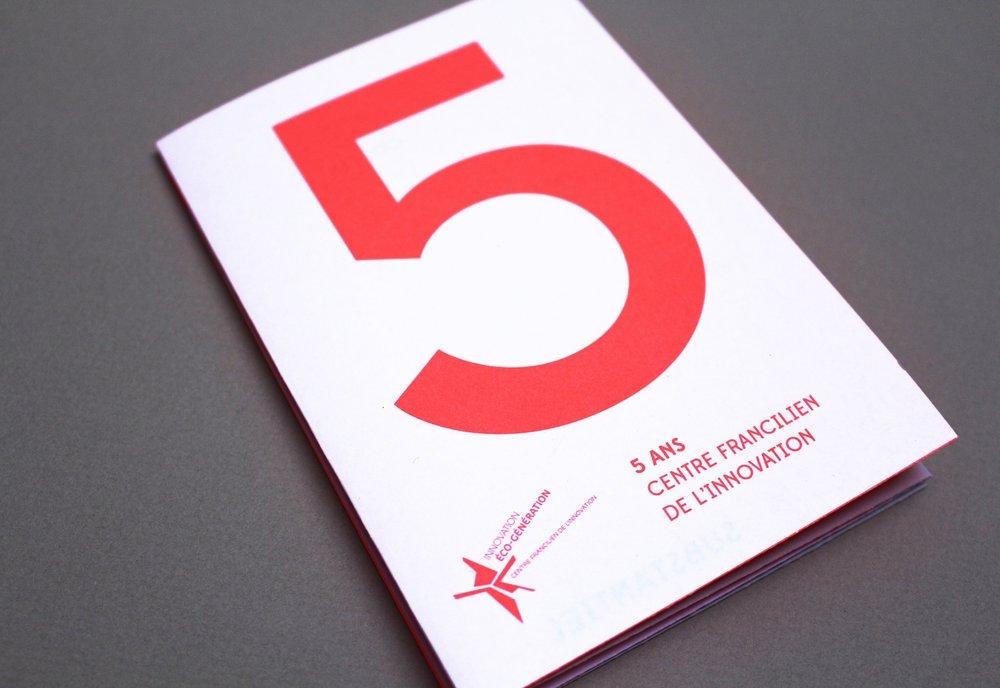 5 ANS D'INNOVATION FRANCILIENNE