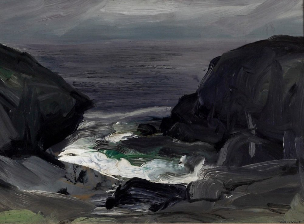 George Bellows - The Coming Storm