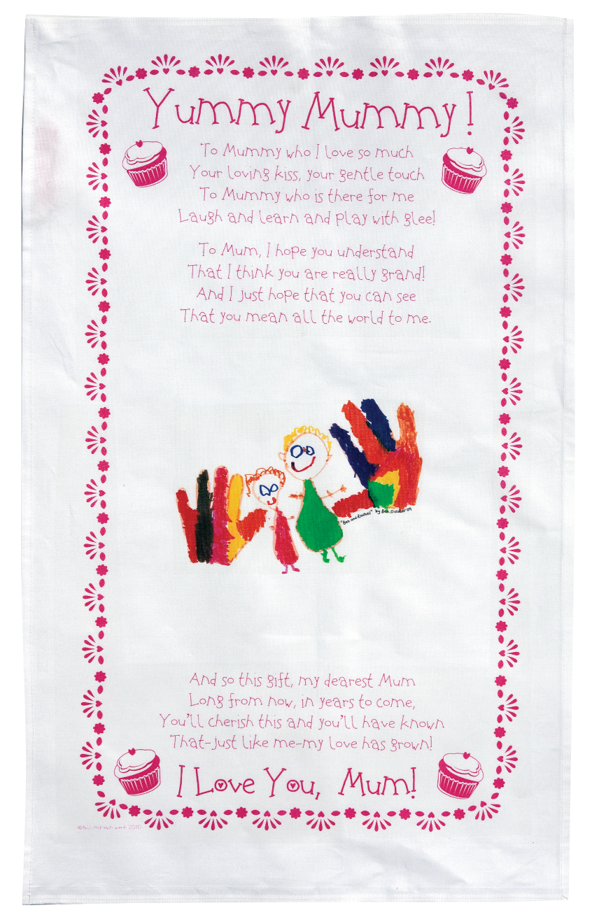 For KIS price, the whole group must do Mummy Tea towels only