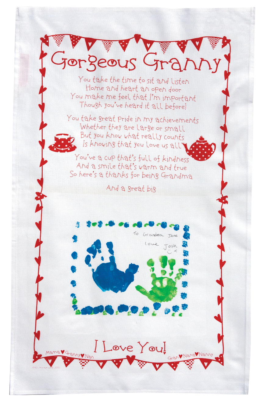 for KIS price, the whole group must do Granny Tea towels only