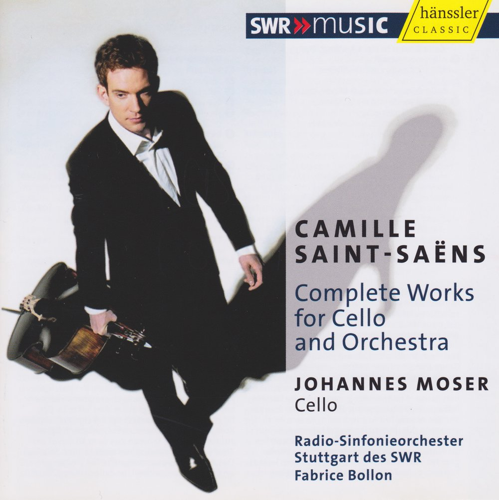 Camille Saint-Saens: Complete Works for Cello and Orchestra  Order the CD:  Amazon.com  |  iTunes  |  Hänssler Classic   Listen on Spotify