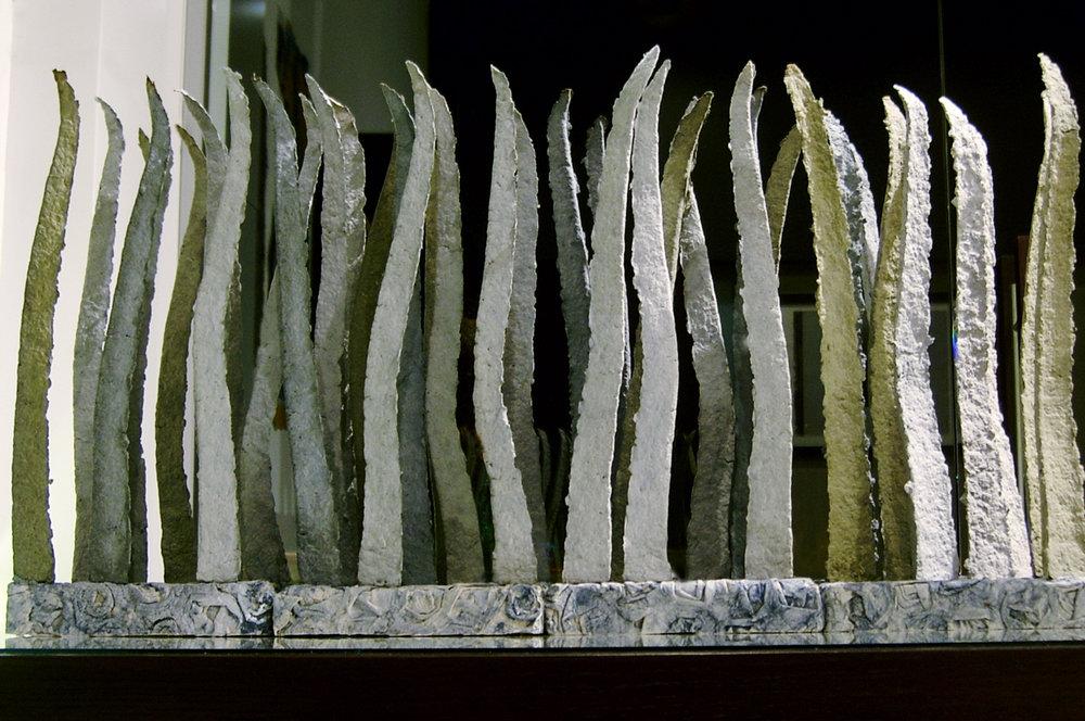 Paper composition Grass, 2003