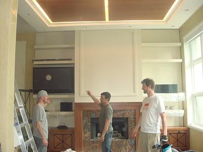 Custom Ceiling Design & Install