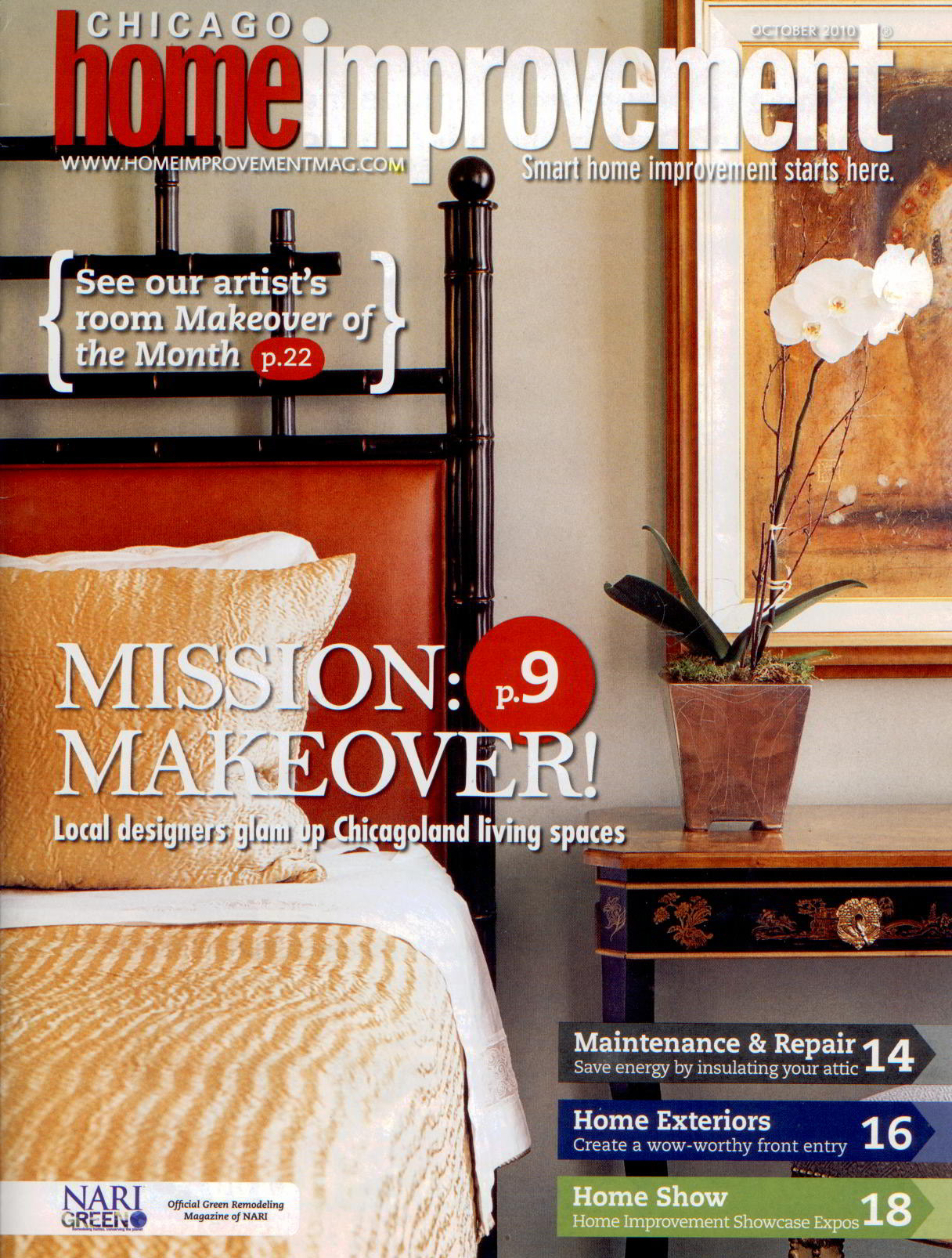 Chicago Home Improvement Magazine Cover