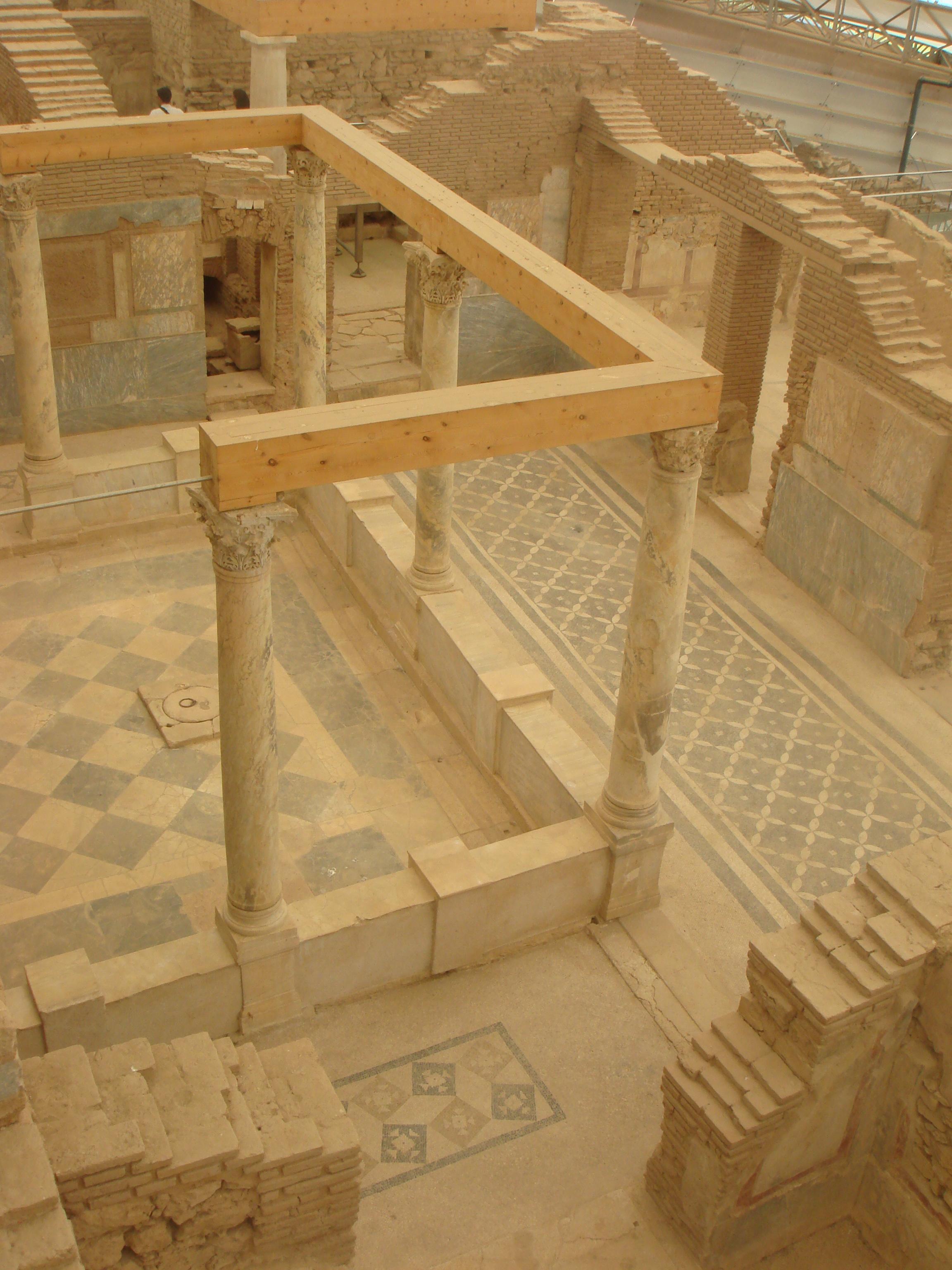 Ephesus tile floors