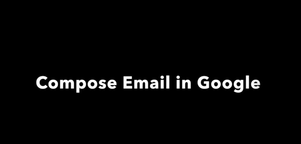 LDA Google Compose Email