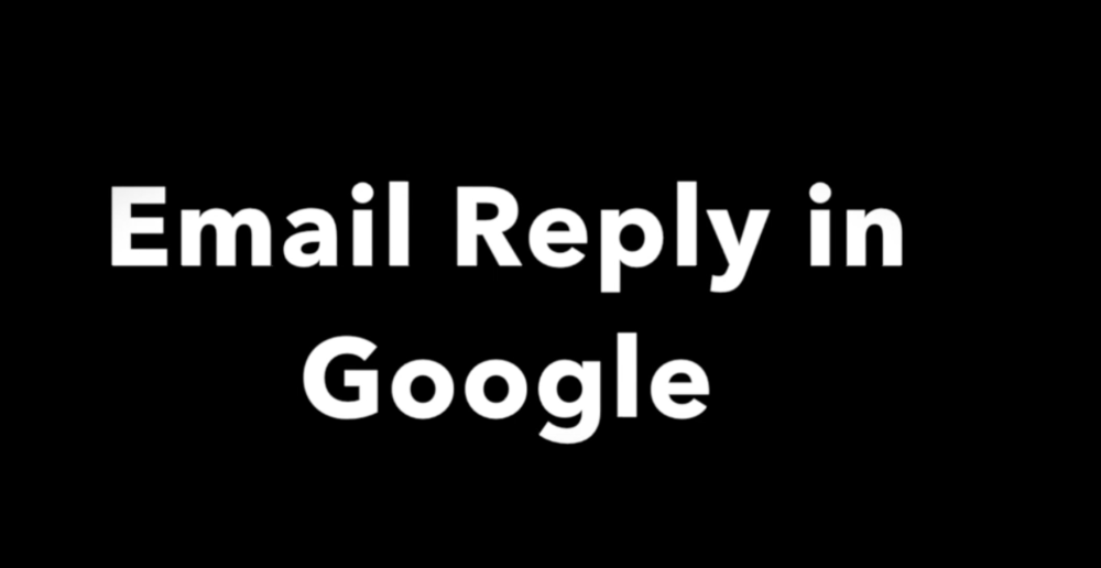 LDA Google Reply to Email