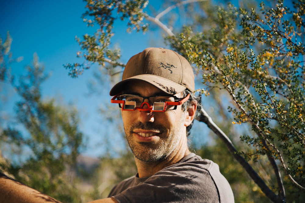 Belay glasses are the best invention since sliced bread! They are simply prisms that allow you to see your climber without having to lift your head up (it also magnifies so it looks closer to you). No more neck pain!!