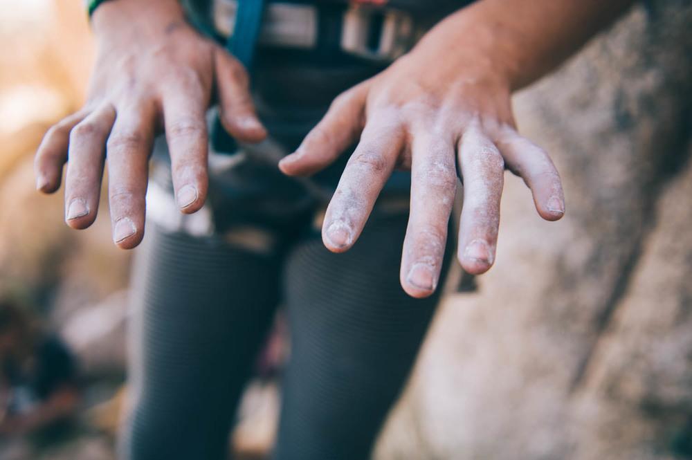 Hard-working hands.