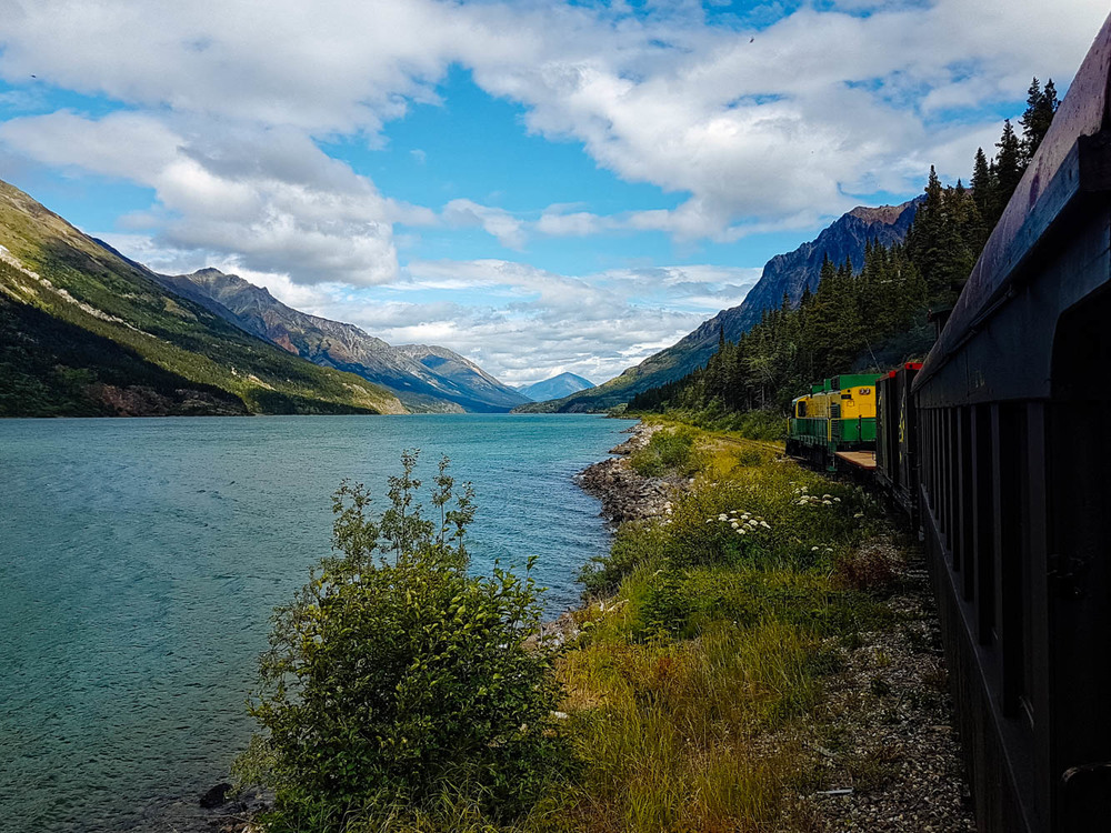 A beautiful 2 hour train ride from Bennett, BC, to Carcross, YT.
