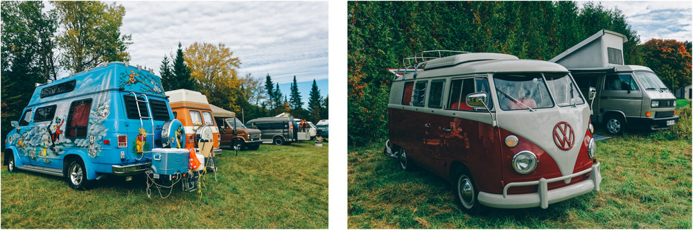 There were over 90 vans that came to El Campo, from the highly customized Disney Van to the authentically restored VW Split,  to pretty much everything in between...