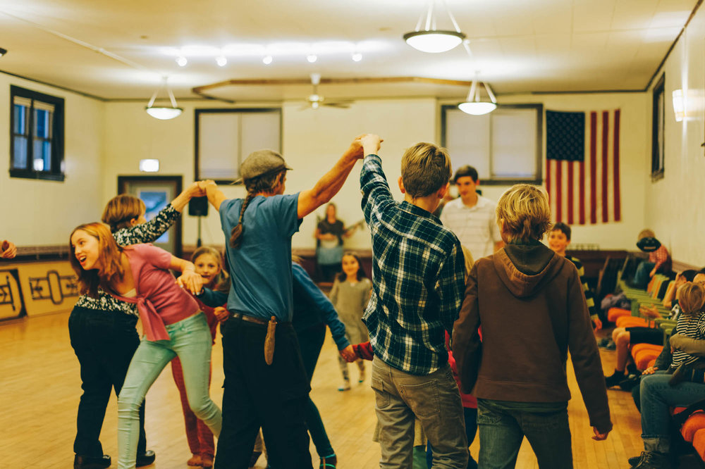 We even went to a Square Dance organized by the local homeschool group!