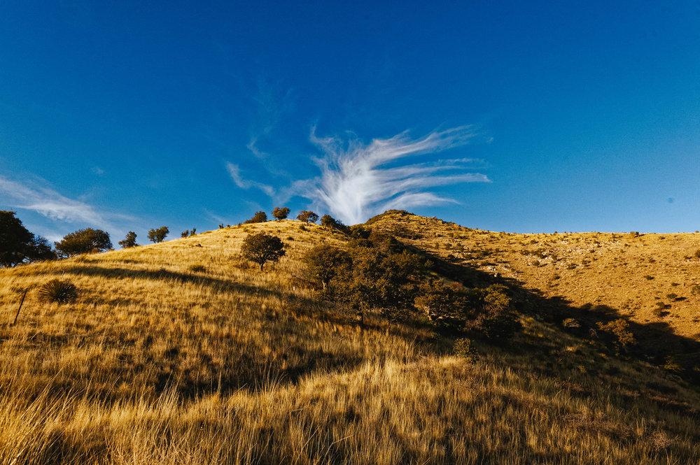 Cloud volcano