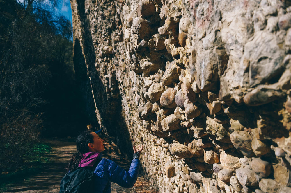 Cobble stone is pretty unique and people come from all over the world to climb at Maple Canyon.