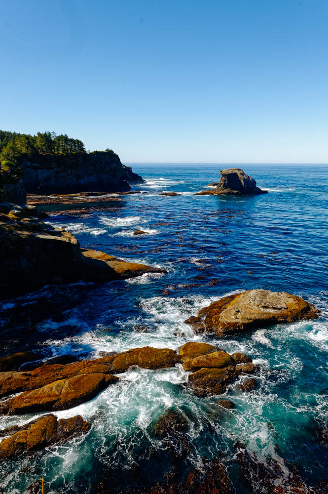 The beautiful rugged waters of Cape Flattery