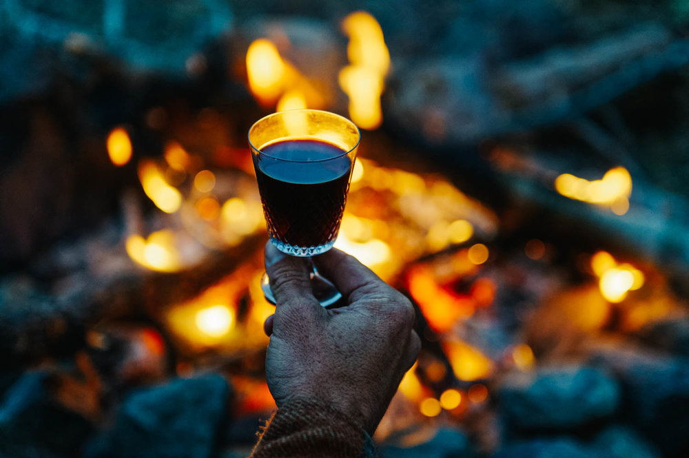 Mulled wine is perfect for cold nights by the fire.