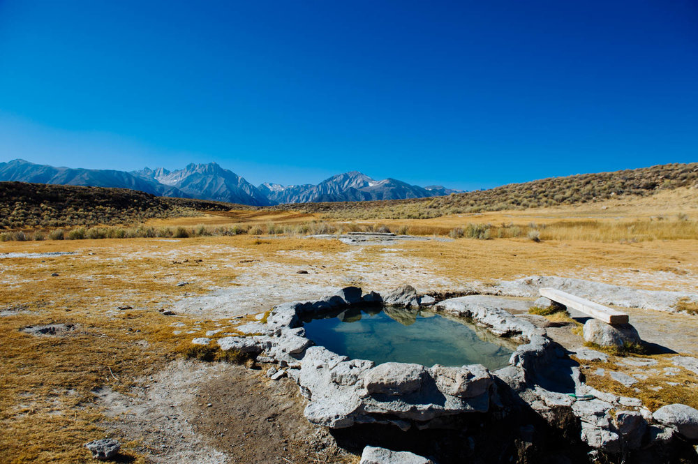 The Crab Cooker was our favorite of the 3 hot springs we visited. It was also the cleanest (it looked like it had just been emptied and scrubbed). It was only a 5 minute walk from our camping spot at Shepard's Hot Spring. And yes, all this is on BLM land (and free!).