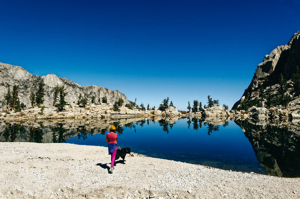 Gorgeous Lone Pine Lake.
