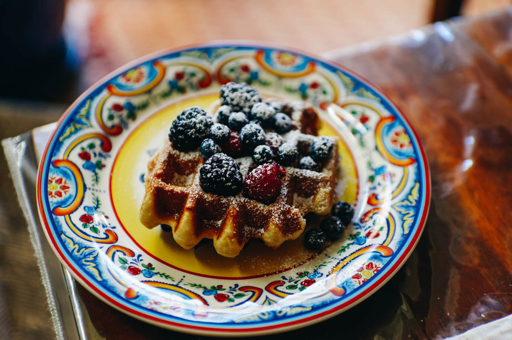 Pascale's famous gluten-free waffles