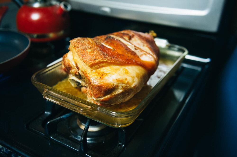 JF's pork roast.