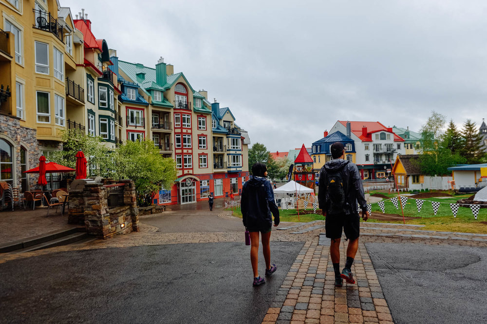 The Tremblant village is so cute!