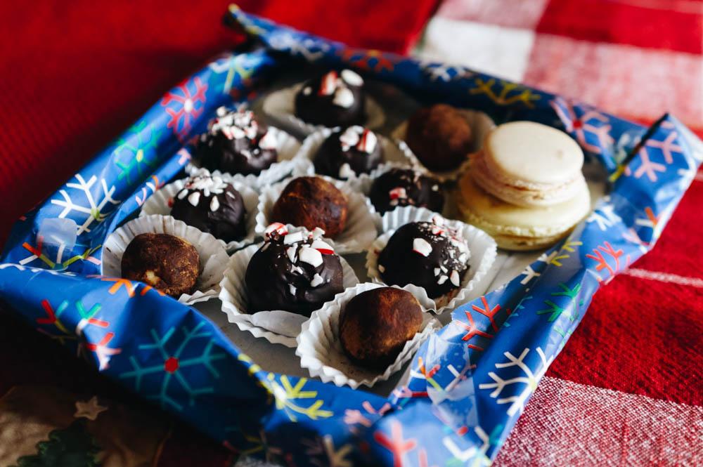 Aïsha's truffles.