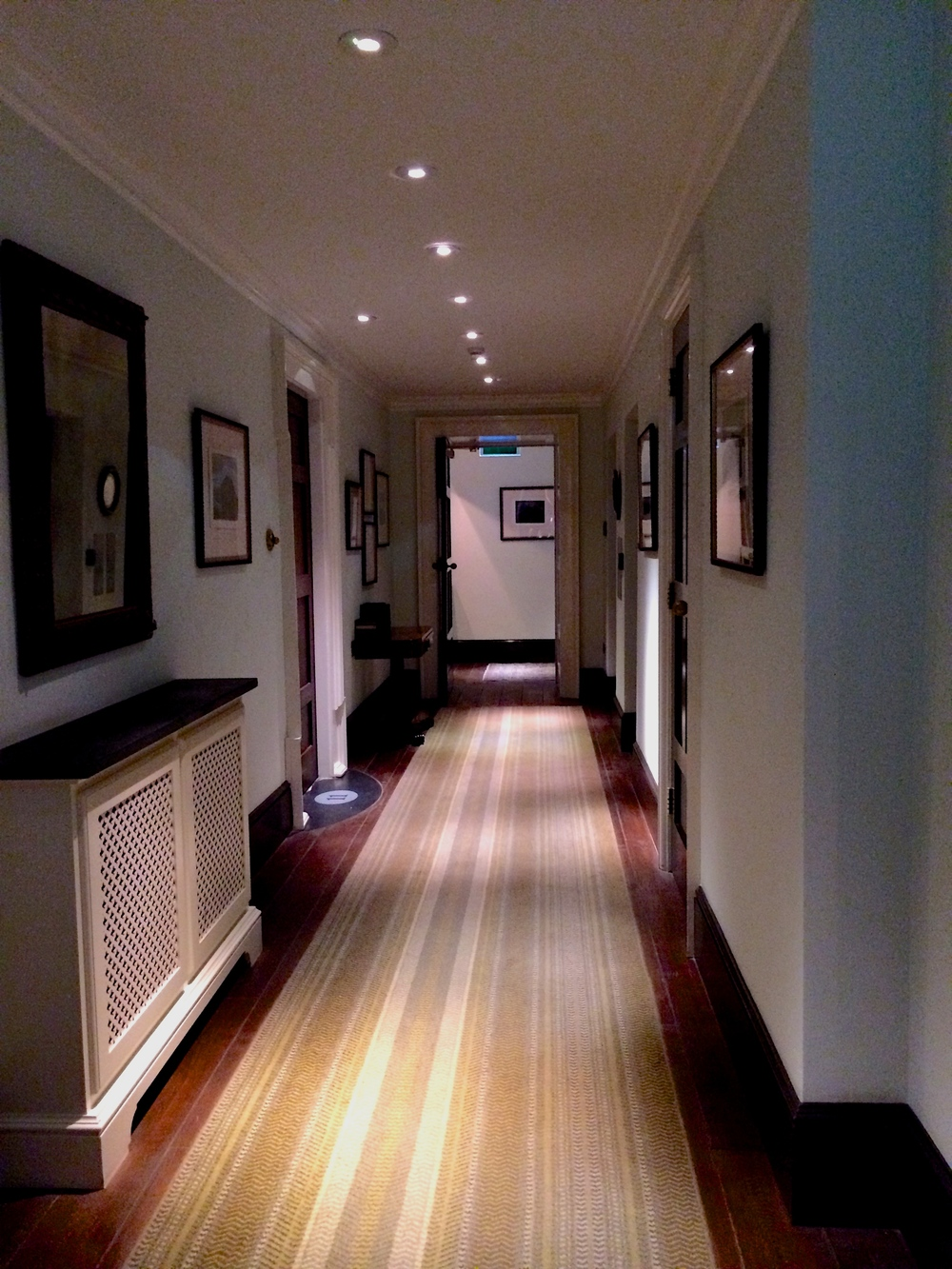 Hallway to our suite
