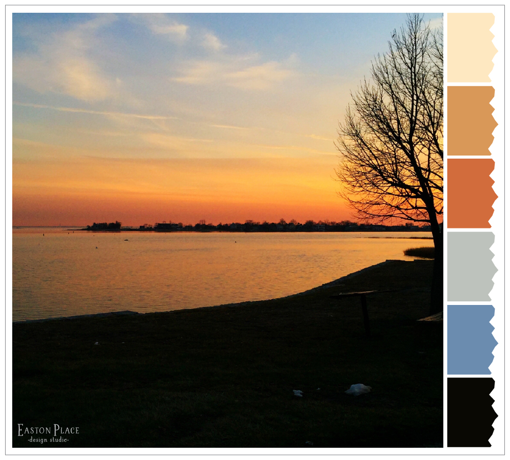 Wordlesswednesday Winter S Sunset Color Palette Easton