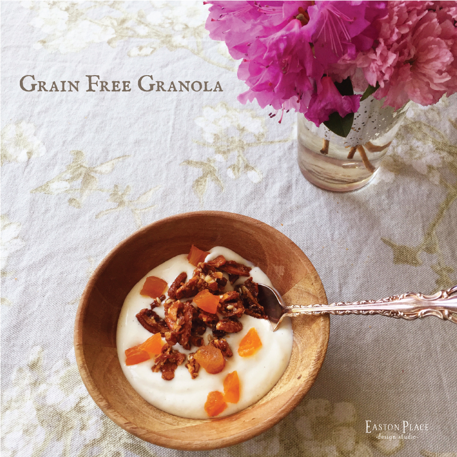 Grain Free Granola by Easton Place Design Studio