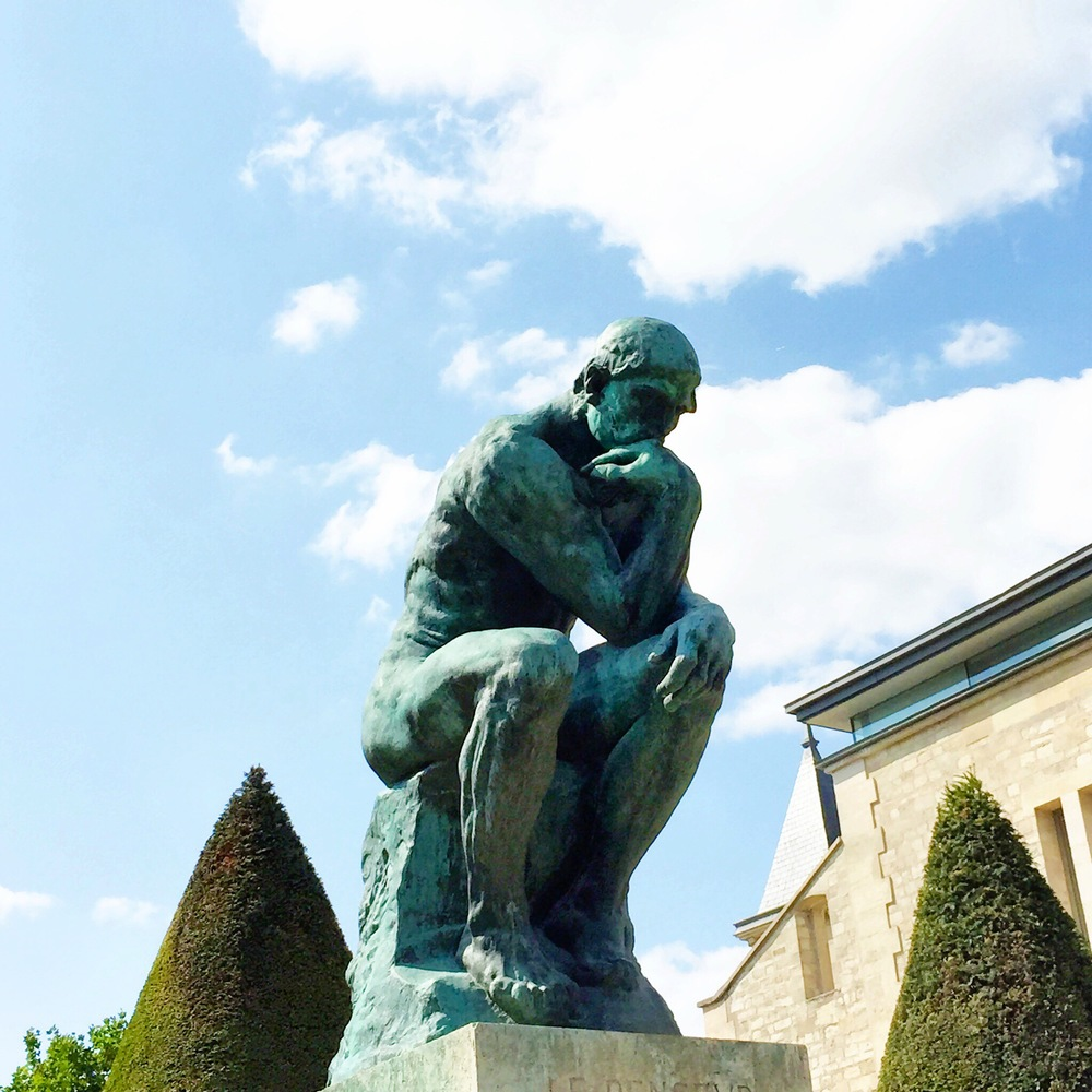 The Thinker, Musee Rodin, Paris, France