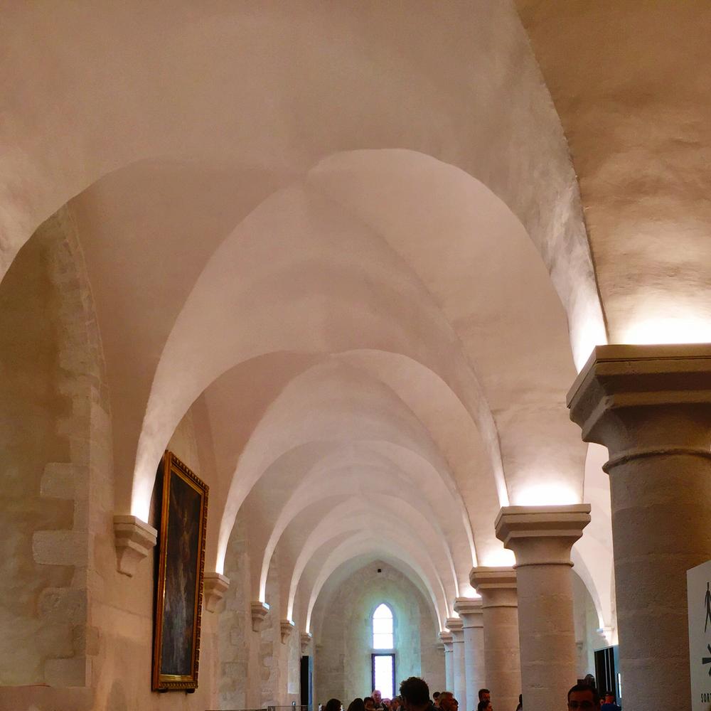 Mont St Michel arches.jpeg