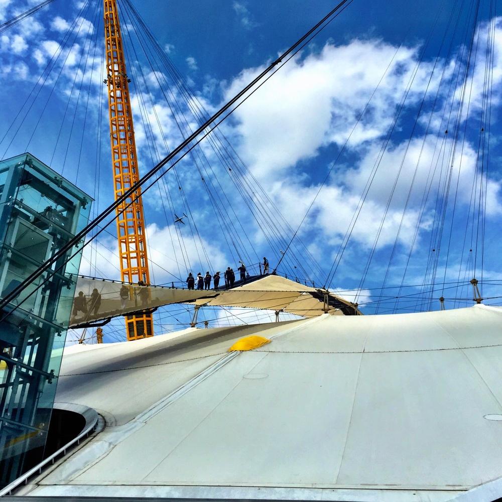 atop the O2