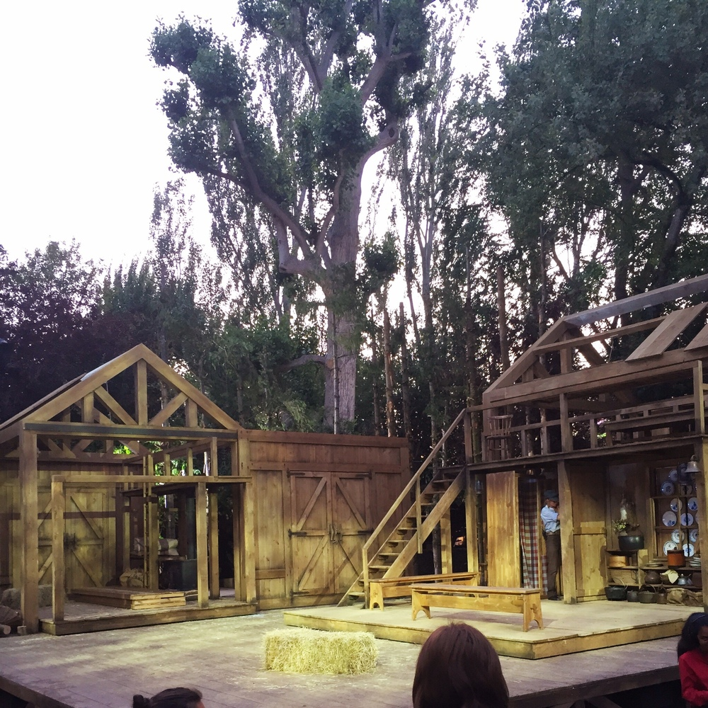 Seven Brides for Seven Brothers stage / open air theatre
