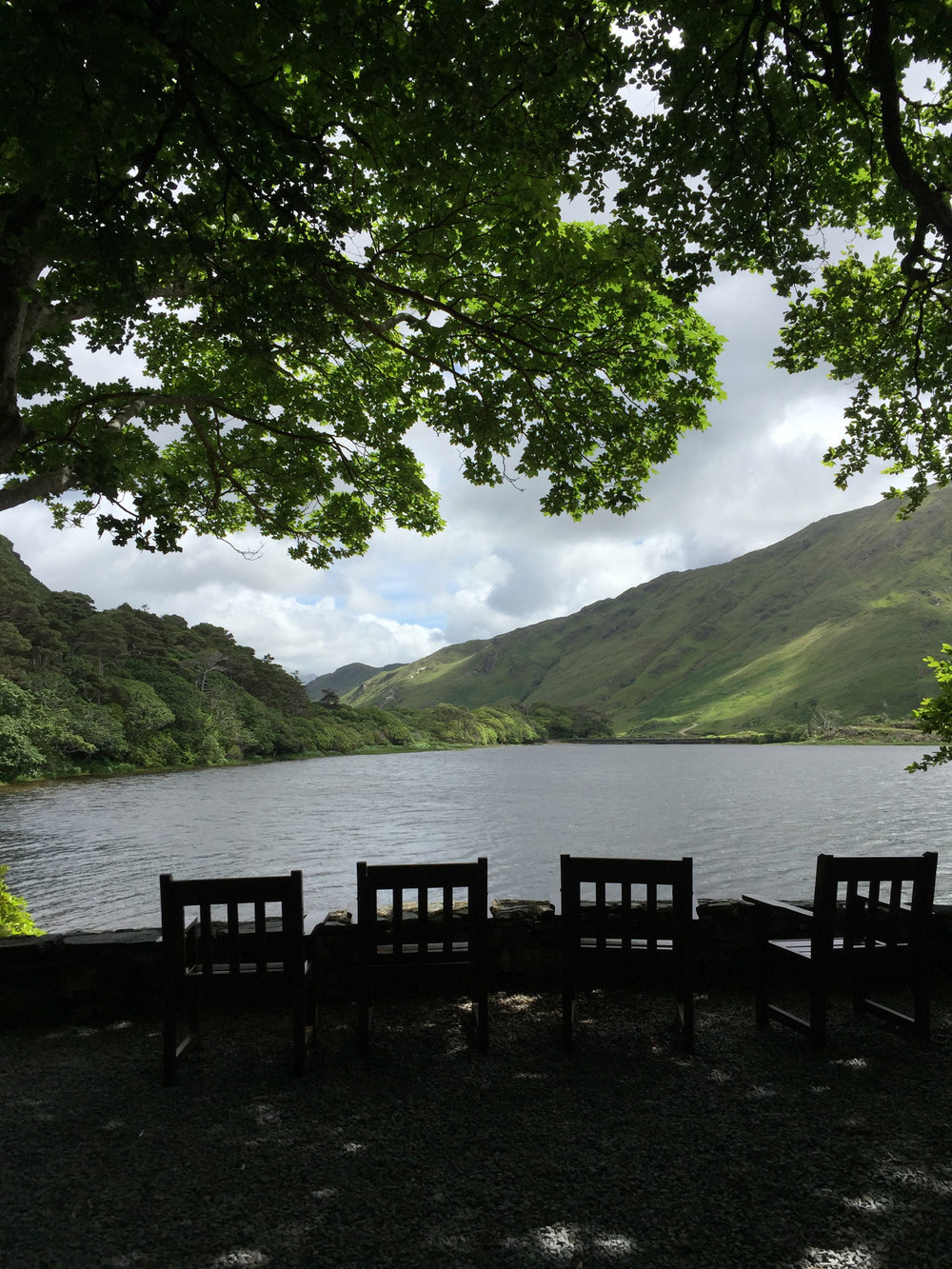 Lovely spot to sit and enjoy the natural surroundings and views!