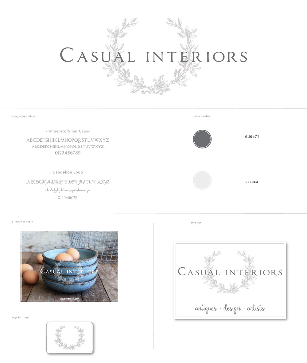 EastonPlace for Casual Interiors Logo