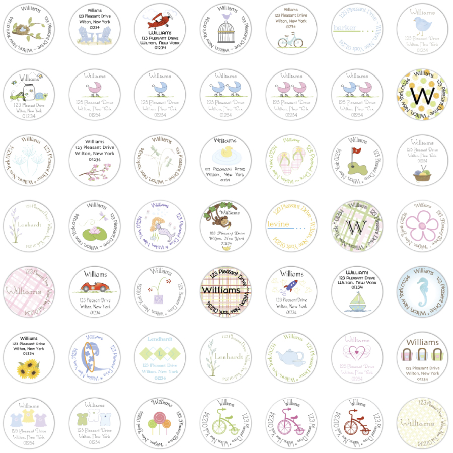 collection-of-round-labels-from-2010-easton-place.jpg