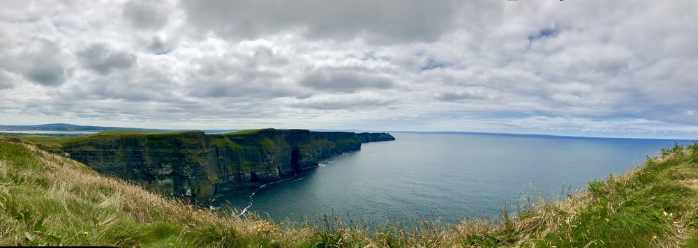 The stunning Cliffs of Moher. Ireland