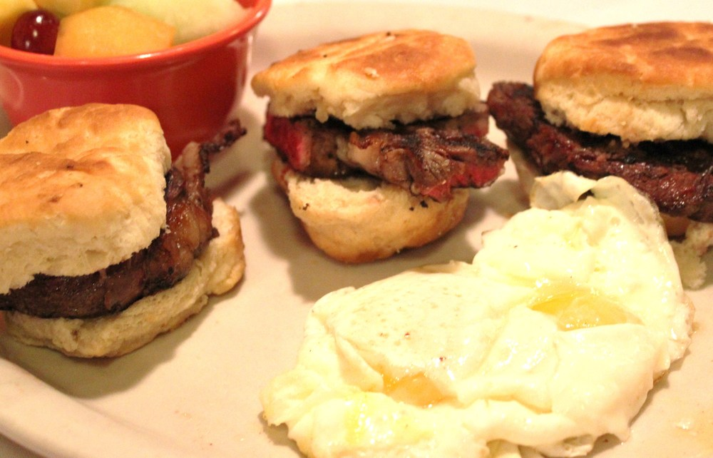 Steak Biscuits