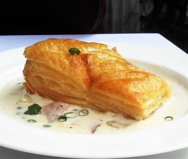 Today we are featuring a deconstructed Duck Pot Pie. Trust me, David did something great with this dish.