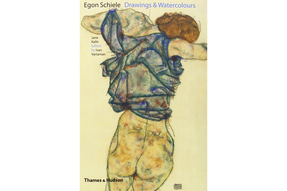 BOOK  EGON SCHIELE DRAWINGS AND WATERCOLORS