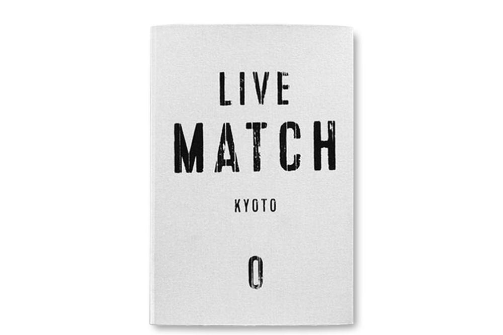 LIMITED EDITION bookshop M LIVE MATCH 0 /1 /2