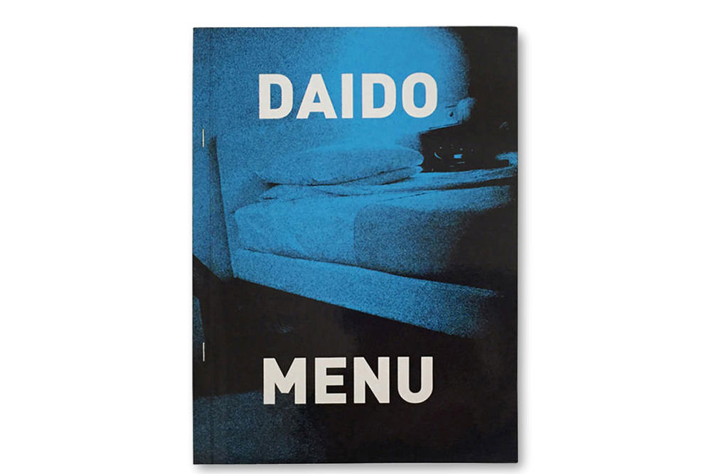 ARTISTS' BOOK  Daido Moriyama MENU