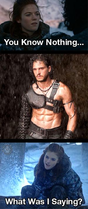 You Know Something Jon Snow