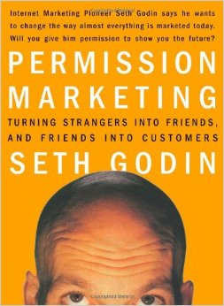 Permission Marketing by Seth Godin Book Cover