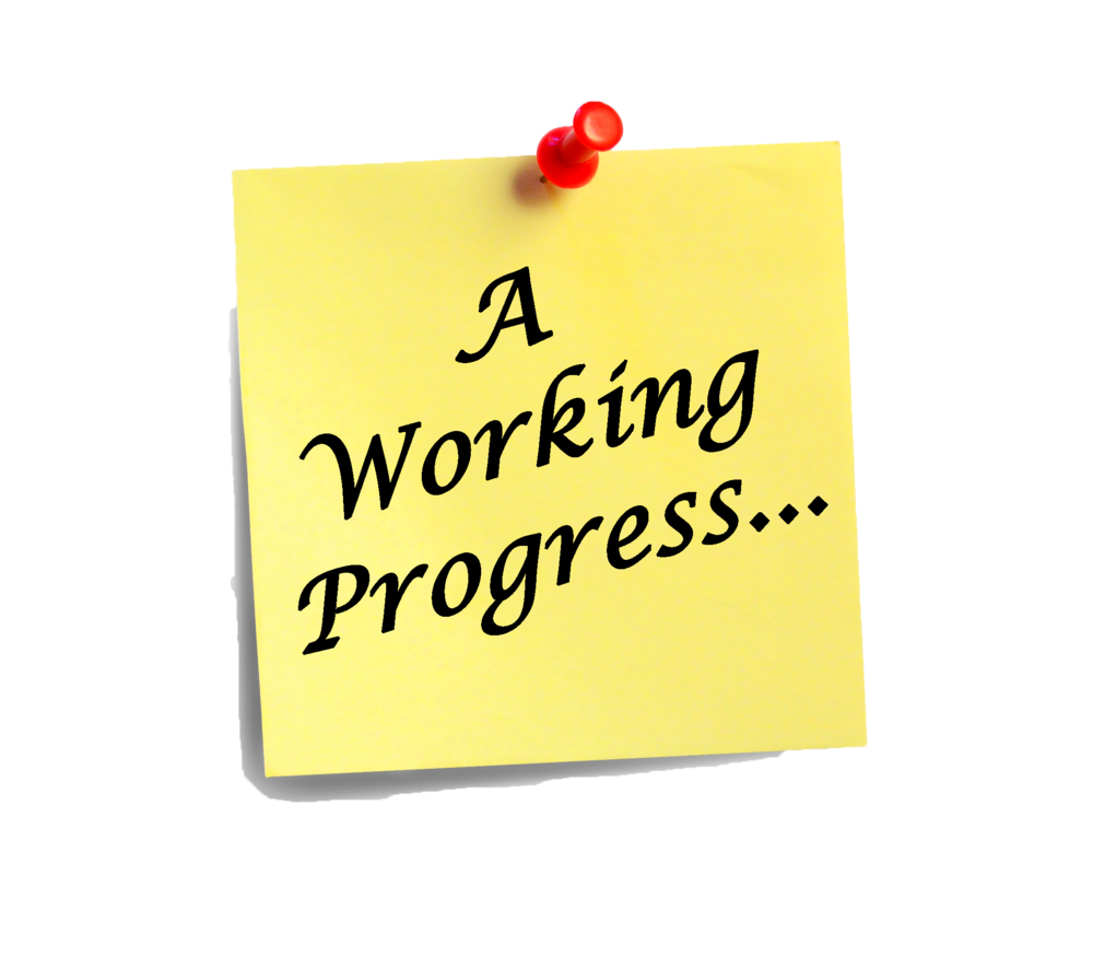 A Working Progress Blog Logo